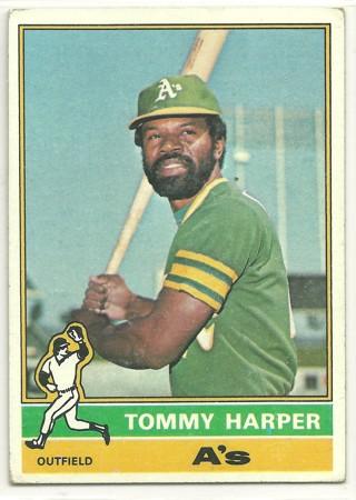 Tommy Harper  1976 Topps #274 Oakland Athletics