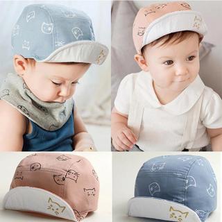 DreamShining Fashion Cat Baby Hats Unisex Girls Boys Baseball Caps Beanie Cartoon Summer Sun Hat N