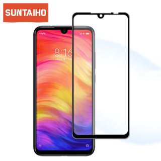Suntaiho 9H Tempered Glass For Xiaomi Redmi Note 7 Full Cover Protective film Screen Protector For