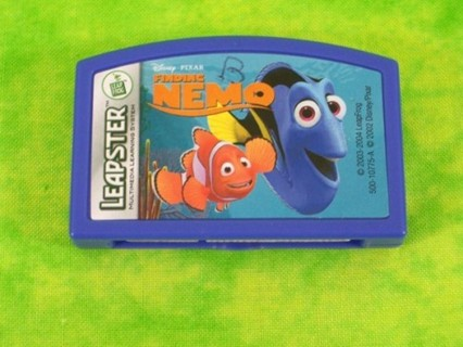 Leap Frog Leapster Disney Finding Nemo Game Cartridge