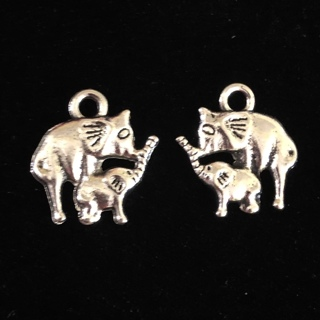 New 2 Baby & Mama Elaphant Charms