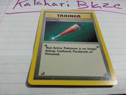 Pokemon Card Trainer Basic Full Heal