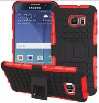 NEW SAMSUNG GALAXY s6 CASE (RED)