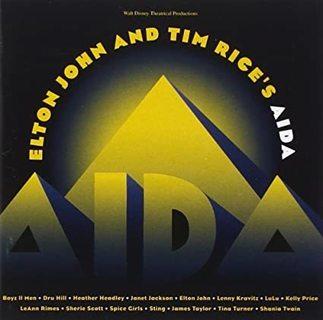 Elton John and Tim Rice's Aida cd