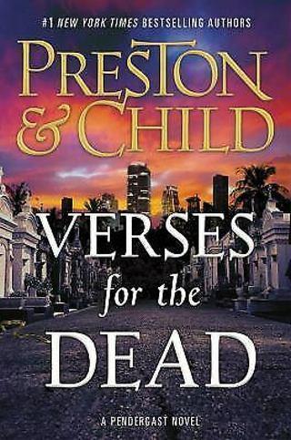 ✹ Verses For The Dead, Preston & Child-Hardcover