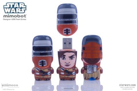 NEW MIMCO STAR WARS Princess Leia Boushh USB 3.0 MIMOBOT FLASH MEMORY DRIVE STICK 64GB