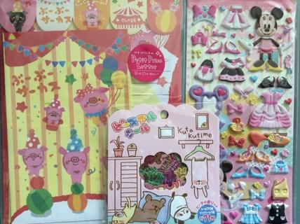 Lot Kawaii Items ☆ Bread Scented Squishy & Washi Tape GIN Bonus