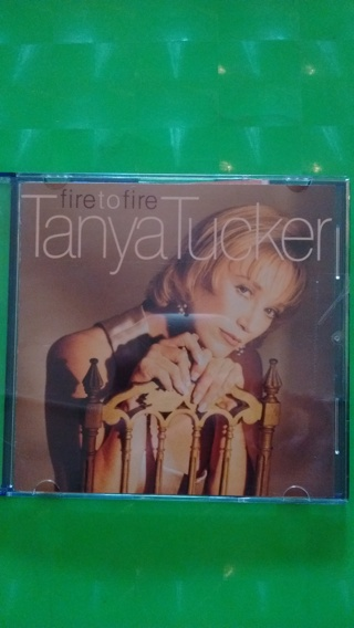 cd  tanya tucker  fire to fire   free shipping