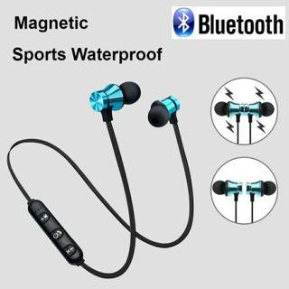Magnetic Wireless bluetooth Earphone XT11 Sports Running Earphone with mic
