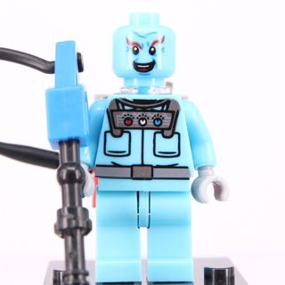 New Mister Freeze Minifigure Building Toy Custom Lego