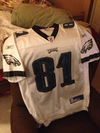 competitive price 92185 52610 Free: Mens Medium Reebok Authentic Philadelphia Eagles ...