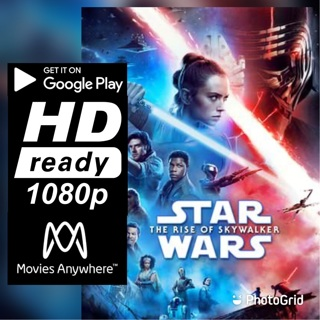 STAR WARS: THE RISE OF SKYWALKER HD GOOGLE PLAY CODE ONLY