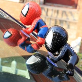 [GIN FOR FREE SHIPPING] Sucker Spider-Man Dummy Car Basket