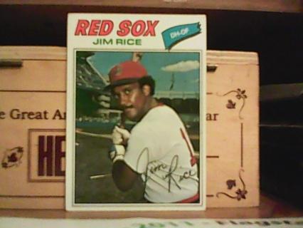 1977 topps jim rice