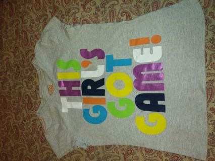 Justice girls top size 7