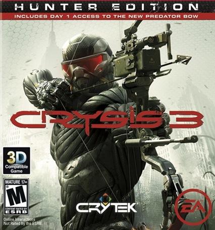 Free: Crysis 3 Hunter Edition (Origin Code) - Video Game Prepaid