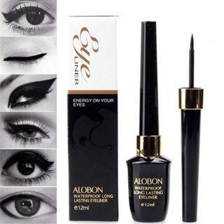 Black Make Up Liquid Eyeliner Waterproof Eye Liner Pencil Pen Comestics Set New