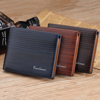 Fast Delivery - New Men Bifold Leather Credit ID Card Holder Wallet Purse #1
