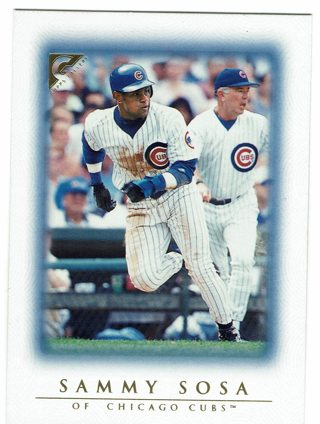 Sammy Sosa Topps Gallery 1999 Chicago Cubs