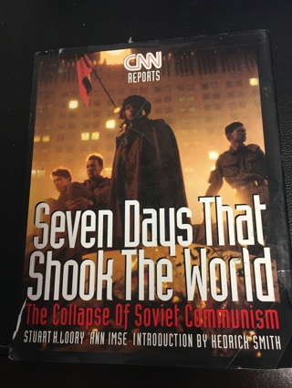 CNN Reports Seven Days That Shook the World Hard Cover- Large Book