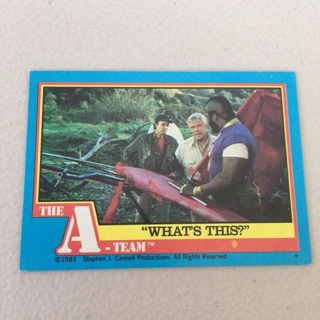 """1983 Topps The A-Team - [Base] #45 """"What's This?"""""""