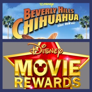DISNEY MOVIE REWARDS CODE ONLY, BEVERLY HILLS CHIHUAHUA DVD