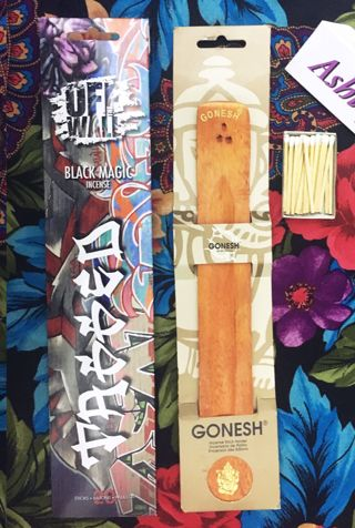 BRAND NEW INCENSE GIFT SET BLACK MAGIC EASY SETUP & READY TO USE FREE SHIPPING INCLUDED