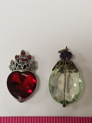 Still Cleaning Out! - 2 BEAUTIFUL AND UNIQUE Pendants  -  Don't Miss Out On These!