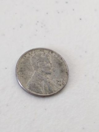 1943 us wheat cent steel penny