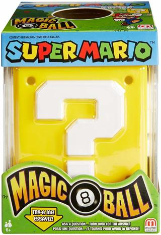 Magic 8 Super Mario Ball