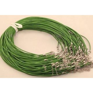 10pcs Bulk lot Multi-color Suede Leather String 20 inch Necklace Cords