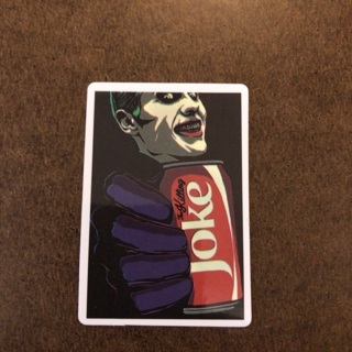 Joker joke  sticker