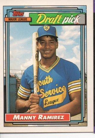 1992 Topps Manny Ramirez Rookie