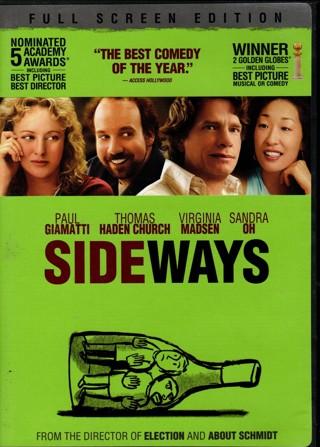 Sideways - DVD starring Paul Giamatti