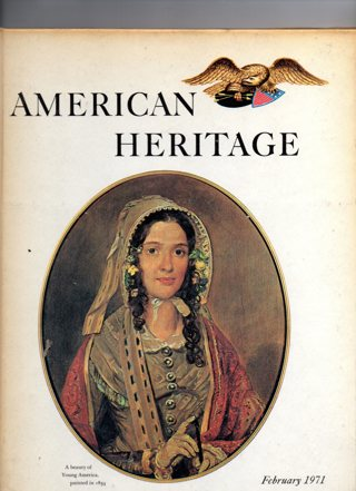 Vintage American Heritage Hard Covered Book: February 1971
