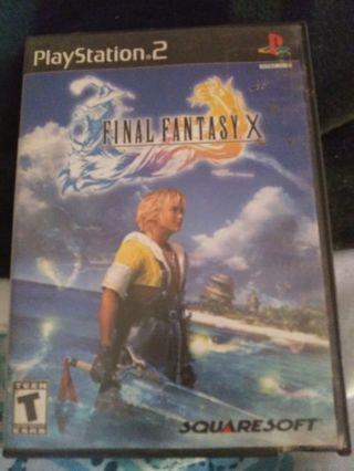 Final fantasy x game