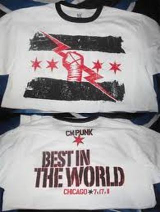 Free Cm Punk Best In The World Shirt Men 39 S Clothing
