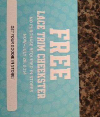 Free Victorias Secret Panty Worth $9.50