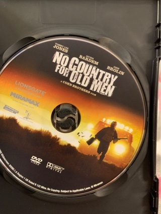 NO COUNTRY FOR OLD MEN DVD COEN BROTHERS FILM WITH TOMMY LEE JONES & JAVIER BARDEM (SKYFALL)