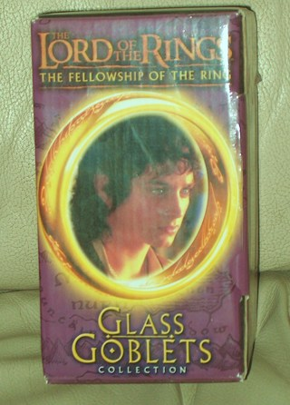 Lord of the Rings Glass Goblet
