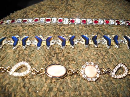 Lot of 3 bracelets