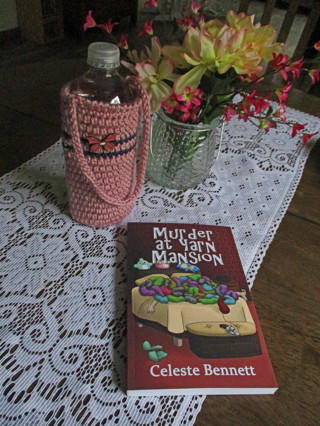 Water Bottle Carrier. New. Crocheted by Me