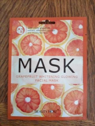 NEW FACIAL MASK GRAPEFRUIT WHITENING GLOWING (1)