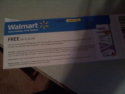 Pregnancy test coupon / Dell outlet coupon