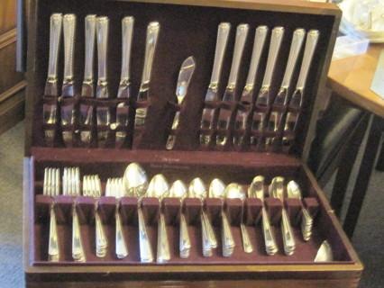 99 Pc. Set of Prestige Silver Ware in Box