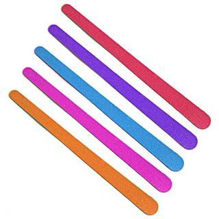 20pcs/lot Colorful Nail File Sanding Buffer 150/150 Grits Double Side Nail Polish Blocks Pedicure