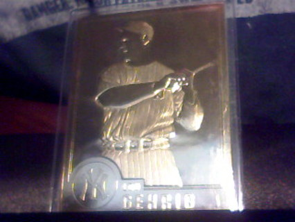 Free 22k Gold Baseball Cards Babe Ruth Jim Palmer Lou