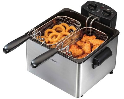 1 NEW Professional-Style Electric Deep Fryer FREE SHIPPING
