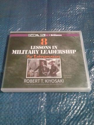 "Audiobook ""8 Lessons In Military Leadership for Entrepreneurs"""