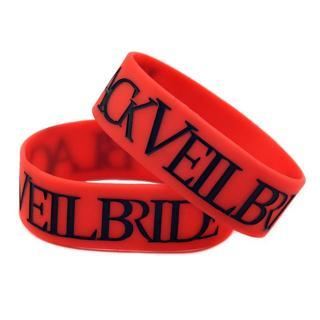 1 black veil brides Wrist Band Bracelet Music Band HOT TOPIC Emo Metal punk GIN
